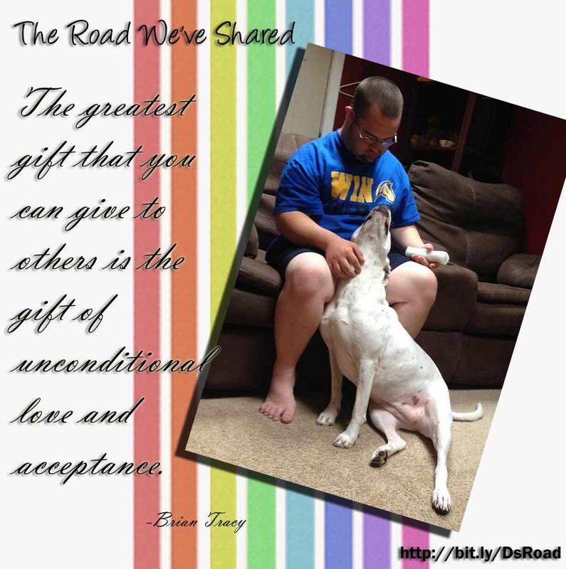 Josh on The Road We've Shared for Down syndrome Awareness month