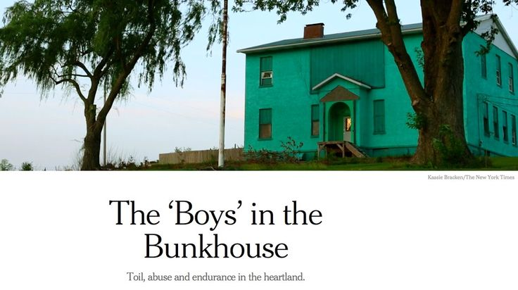 The 'Boys' in the Bunkhouse