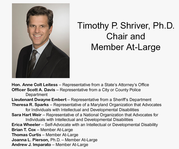 Tim Shriver and the MD Commission on Inclusion