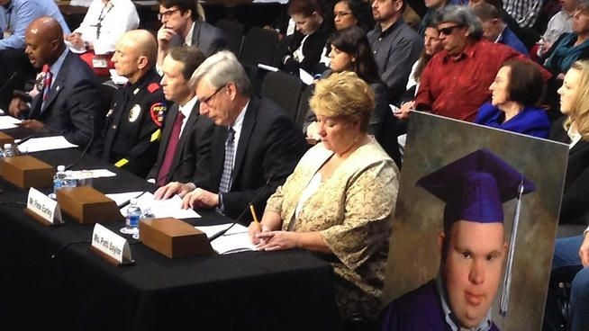 Patti Saylor testified before the Senate Judiciary Subcommittee on the Constitution, Civil Rights, and Human Rights.