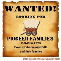 Pioneer Families on The Road We've Shared