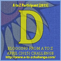 D on The Road We've Shared and A to Z Blogging Challenge