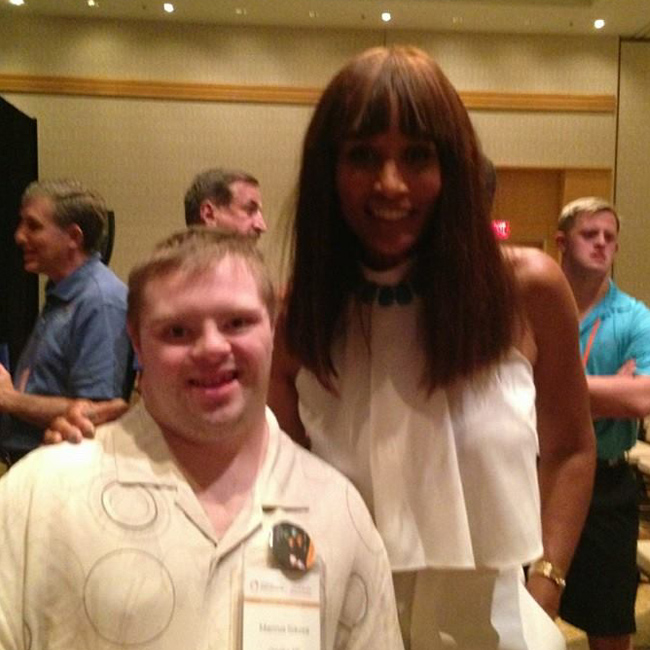 Marcus meets Beverly Johnson