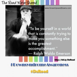 To be yourself in a world that is continually trying to make you something else is the greatest accomplishment""