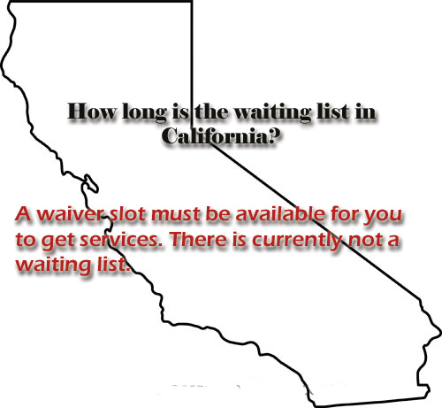 California wait lists