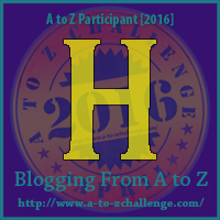 H is for Happy – A to Z Blogging Challenge