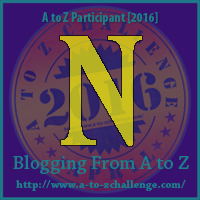 N on Blogging from A to Z