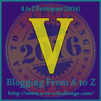 V on Blogging from A to Z