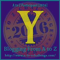 Y is for YouTube on the A to Z Blogging Challenge