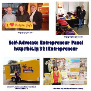 Self-Advocate Entrepreneur Panel