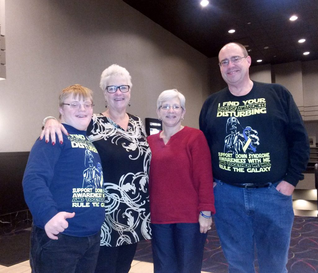 The Sherman Family with Patti Saylor