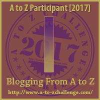 I on A to Z Blogging Challenge on The Road We've Shared