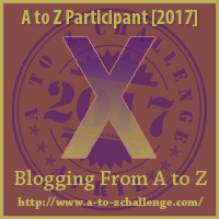 Learning to be a Xenial Worker on the A to Z Challenge at The Road We;ve Shared