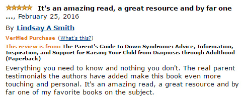 Everything you need to know and nothing you don't. The real parent testimonials the authors have added make this book even more touching and personal. It's an amazing read, a great resource and by far one of my favorite books on the subject.