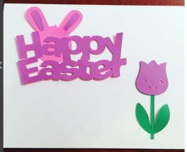 Easter cards by Hailey's Card Shop at the DOWNs Town Mall