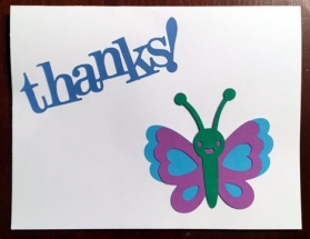Thanks! - Hailey's Cards