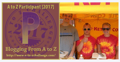 P Poppin' Joe Celebrates on the #AtoZChallenge at The Road We've Shared