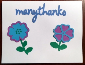 Many Thanks - Hailey's Cards