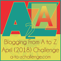 A to Z Blogging Challenge - A