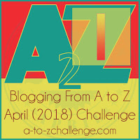 A to Z Blogging Challenge - I
