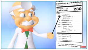 Dr Smarty Nutrition Labels on The Road Scholars for The A to Z Blogging Challenge