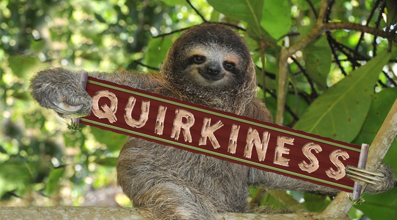 April A to Z Blogging Challenge: Quirkiness
