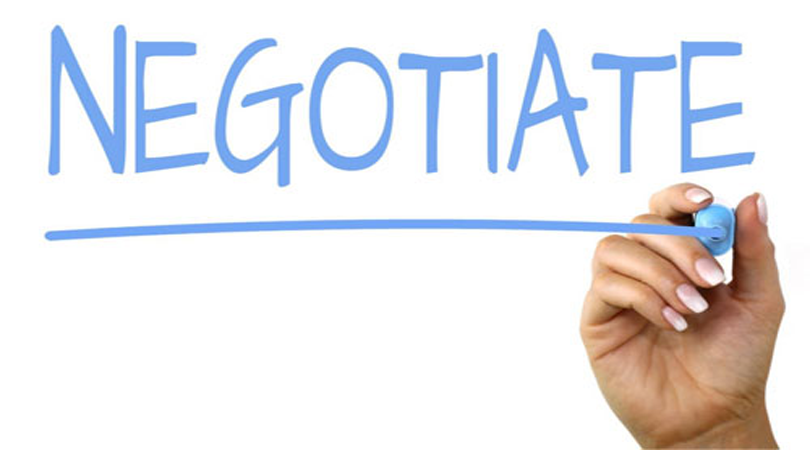 April A to Z Blogging Challenge: Negotiate