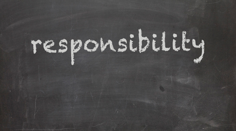 A to Z Blogging Challenge: Responsibility