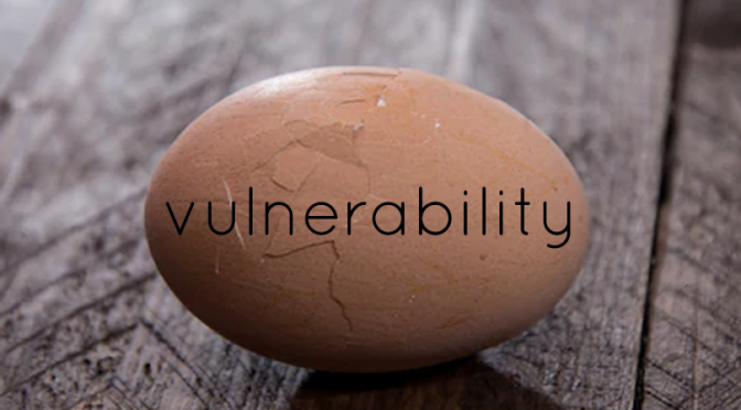 A to Z Blogging Challenge: Vulnerability
