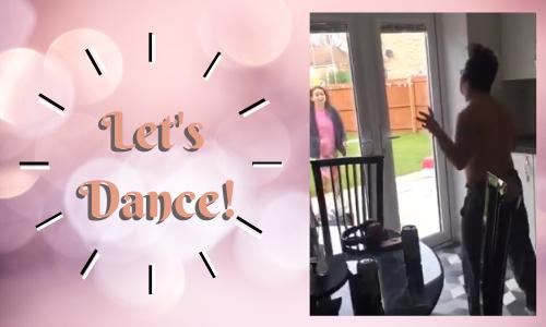 Let's Dance! A Prescription for Self-Isolation Blues