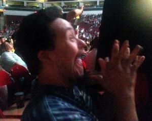 Josh at WWE live