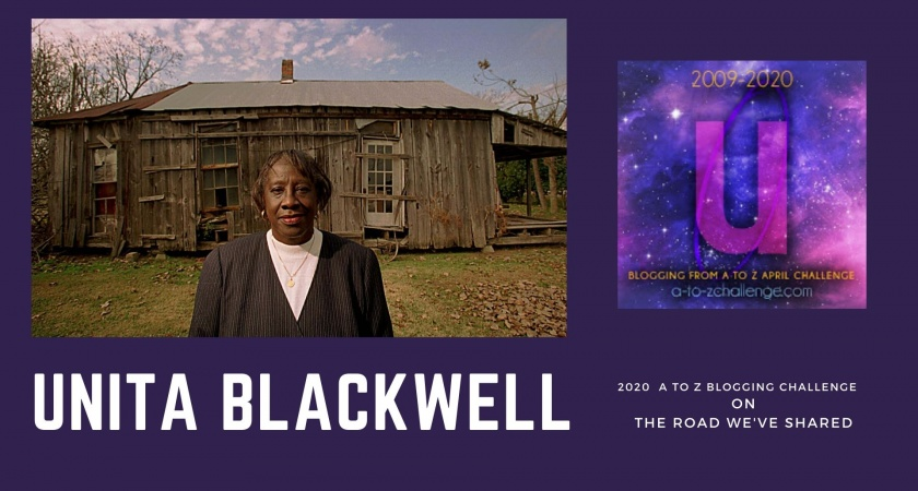 Unita Blackwell – A to Z Blogging Challenge