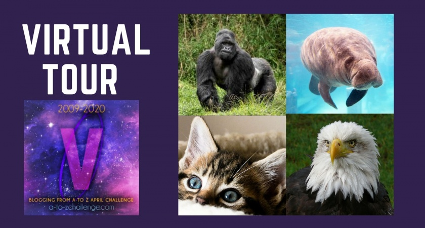 Virtual Tours – A to Z Blogging Challenge