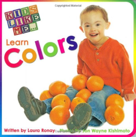 Kids Like Me Learn Colors