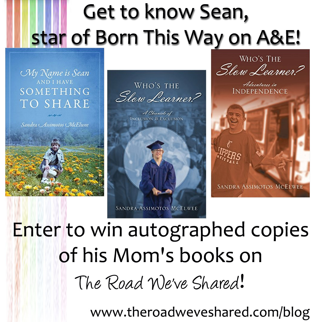 Meet Sean – Star of #BornThisWay on A & E! Book Giveaway!