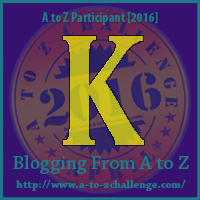 K is for Katy Perry 'Roar' Contest – A to Z Blogging Challenge