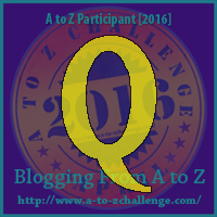 Q is for Quittin' Time – A to Z Blogging Challenge