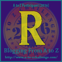R is for the Ring – A to Z Blogging Challenge