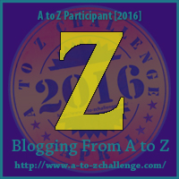 Z is for Zyon – A to Z Blogging Challenge