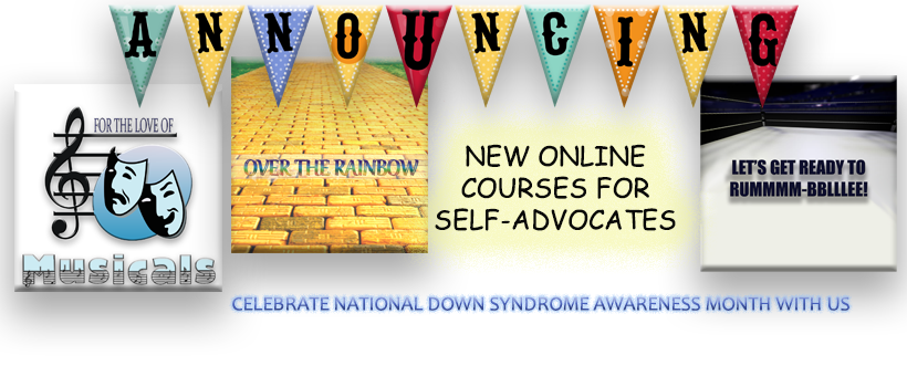 Life After High School – New Online Courses for Adults with Down Syndrome
