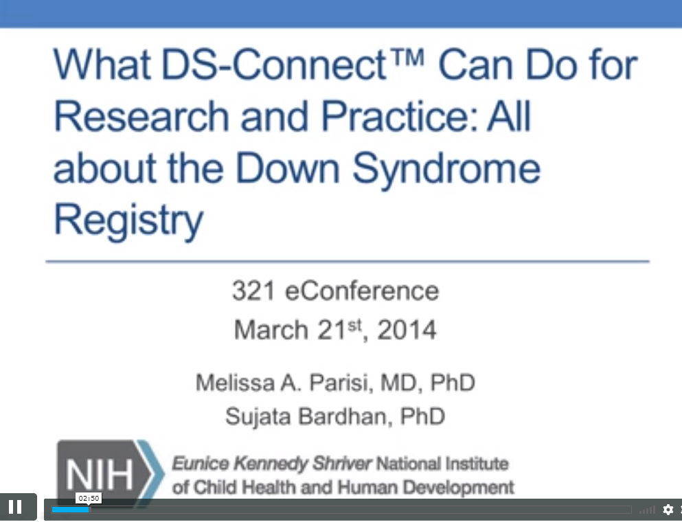 All about the Down syndrome registry