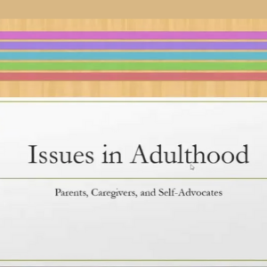 Issues in Adulthood