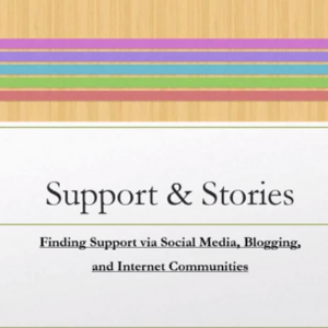 Finding Support via Social Media