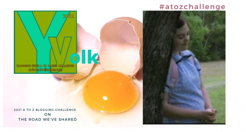 A to Z Blogging Challenge – Down Syndrome in the Media – Yolk